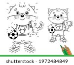 puzzle game for kids  numbers... | Shutterstock .eps vector #1972484849