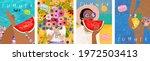 summer  vector illustration of... | Shutterstock .eps vector #1972503413