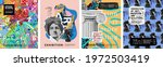 art posters for the exhibition... | Shutterstock .eps vector #1972503419
