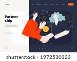 business topics   partnership ... | Shutterstock .eps vector #1972530323