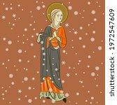 Beautiful Christian Saint Woman ...
