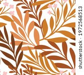 hand drawn floral pattern....   Shutterstock .eps vector #1972568513