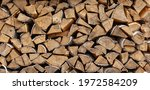 Background Birch Firewood...