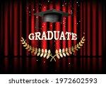 graduation ceremony banner.... | Shutterstock .eps vector #1972602593