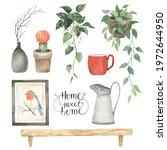 home character set  interior... | Shutterstock . vector #1972644950