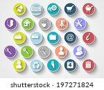 icons flat ui style