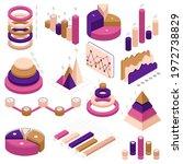 infographic isometric elements. ...   Shutterstock .eps vector #1972738829