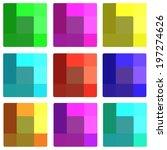 squares | Shutterstock .eps vector #197274626