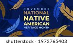 native american heritage month. ...   Shutterstock .eps vector #1972765403