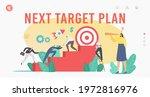 next target plan landing page... | Shutterstock .eps vector #1972816976