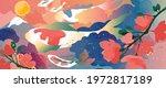 luxury oriental style... | Shutterstock .eps vector #1972817189