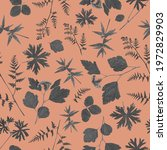 floral seamless pattern in... | Shutterstock . vector #1972829903