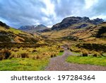 Dramatic Landscape Of Glen Coe...