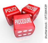 policy  process procedure words ... | Shutterstock . vector #197284439
