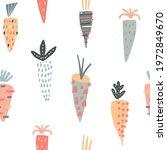 seamless creative carrots... | Shutterstock .eps vector #1972849670