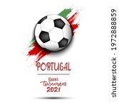soccer tournament 2021. soccer... | Shutterstock .eps vector #1972888859