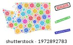 vector infection collage...   Shutterstock .eps vector #1972892783
