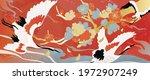 luxury gold oriental style... | Shutterstock .eps vector #1972907249