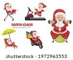 cartoon illustration of santa...   Shutterstock .eps vector #1972963553