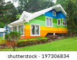 Beautiful Colorful House And...