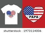 papa t shirt vector design ... | Shutterstock .eps vector #1973114006