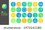 ecology linear style icon... | Shutterstock .eps vector #1973141180