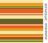 70's horizontal stripe pattern. ... | Shutterstock .eps vector #1973191133