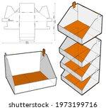 stackable retail double edge... | Shutterstock .eps vector #1973199716