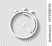 stopwatch or timer  simple icon....   Shutterstock .eps vector #1973208740