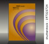 flyer or cover design | Shutterstock .eps vector #197323724