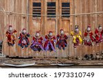 Colorful Puppets In A Tourist...