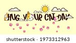 background with cat image and ... | Shutterstock .eps vector #1973312963