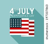 happy independence day united... | Shutterstock .eps vector #197337863