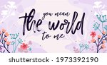 love romantic quotes you mean...   Shutterstock .eps vector #1973392190