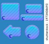 game ui purple blue cute...