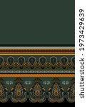 vertical boho hand drawn... | Shutterstock .eps vector #1973429639