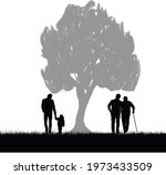 concept for father's day... | Shutterstock .eps vector #1973433509