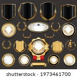 collection of retro vintage...   Shutterstock . vector #1973461700