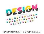 modern style font  bright... | Shutterstock .eps vector #1973463113