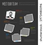 company team dark presentation...   Shutterstock .eps vector #1973480396