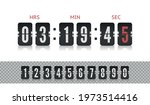 scoreboard number font with...