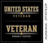 united states veteran insignia  ... | Shutterstock .eps vector #1973576129