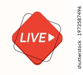 live icon  button  symbol  web  ...