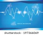 medical background vector | Shutterstock .eps vector #197366069