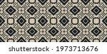 Seamless Ethnic Pattern. Wicker ...