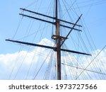 Sailing Ship In Hokkaido Japan