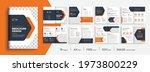 company profile brochure... | Shutterstock .eps vector #1973800229