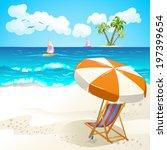 summer beach   Shutterstock .eps vector #197399654