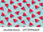 summer  watermelon slice... | Shutterstock .eps vector #1973996669
