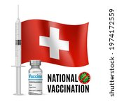 flag of switzerland with...   Shutterstock .eps vector #1974172559